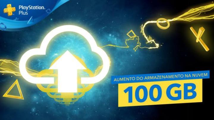 PlayStation Plus agora disponibiliza 100GB de espaço de armazenamento na nuvem