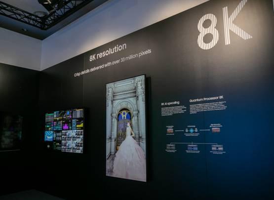 Samsung 8K - Samsung apresenta na ISE 2019 a nova geração de qualidade de imagem com sinalética digital 8K
