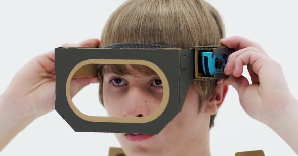 Nintendo Switch poderá em breve receber suporte para a realidade virtual