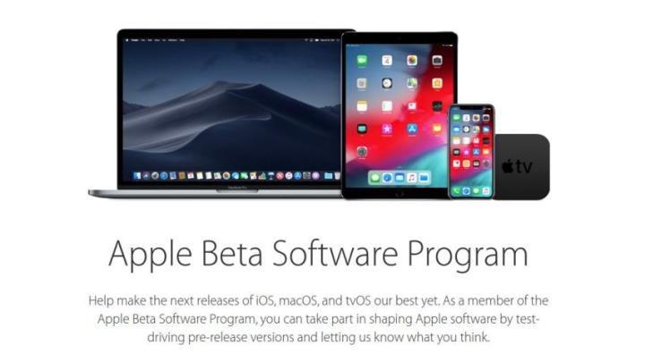 Apple Beta Program - Apple lança as versões beta do iOS 12.3 e tvOS 12.3