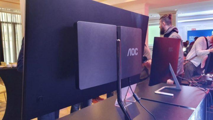 AOC U32U1 - AOC e o Studio FA Porsche dão as mãos e nascem dois novos monitores