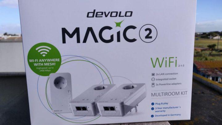 Devolo Magic 2 WiFi  - Análise Devolo Magic 2 WiFi: Quando a distância deixa de ser um problema