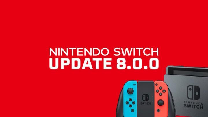 Nintendo Switch 8.0.0 - Nintendo Switch recebe uma atualização de firmware com a versão 8.0.0