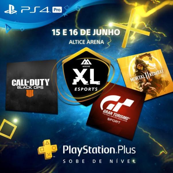 Moche XL eSports - PlayStation confirma presença no Moche XL eSports