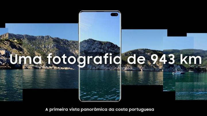 fotografia de vista panorâmica - Samsung tirou a primeira fotografia de vista panorâmica de toda a Costa Portuguesa