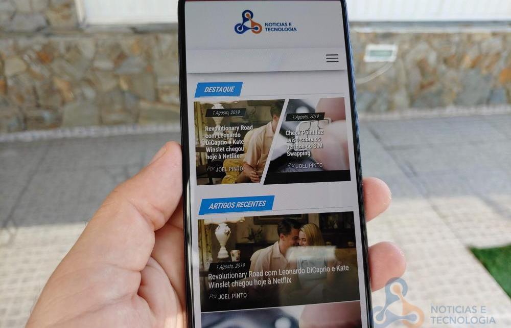 Análise Galaxy A70 Android 10