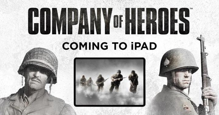 Company of Heroes - Company of Heroes anunciado para o iPad