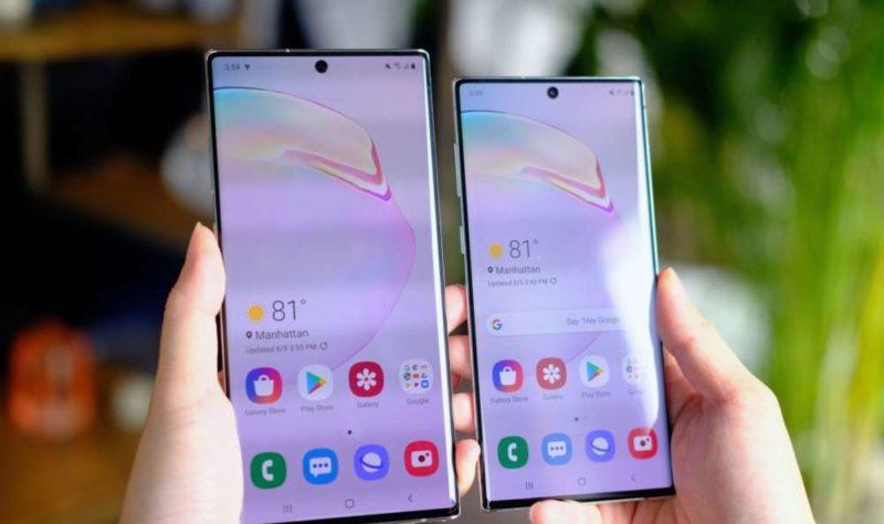 Galaxy Note 10 Android 10