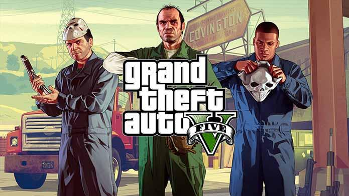 GTA V PlayStation 5