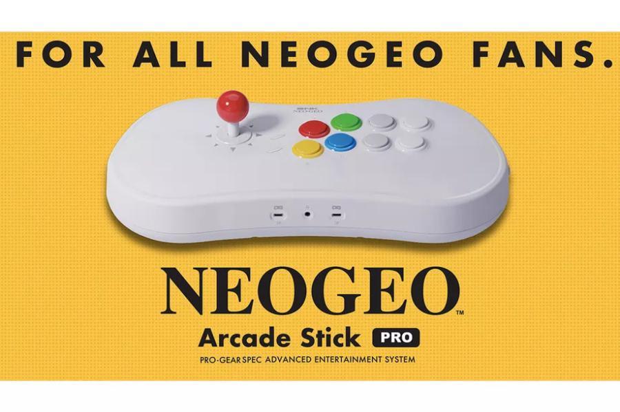 Neo Geo Arcade Stick Pro - Neo Geo Arcade Stick Pro: Revelada a lista de jogos, e definitivamente eu quero um
