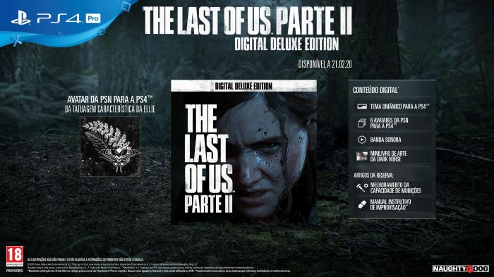 The Last of Us Parte II 1 - PlayStation revela Edição Exclusiva de reserva de The Last of Us Parte II