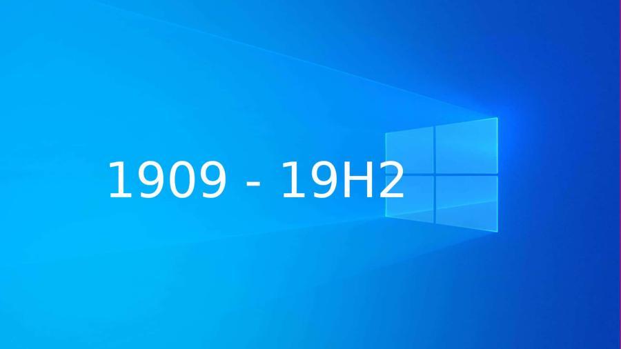 Windows 10 1909 Requisitos