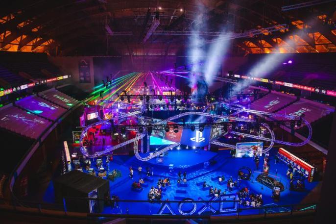 MOCHE XL Games World - MOCHE XL Games World teve mais de 30 mil visitantes