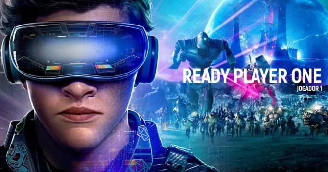 Ready Player One, de Steven Spielberg, chegou hoje à Netflix