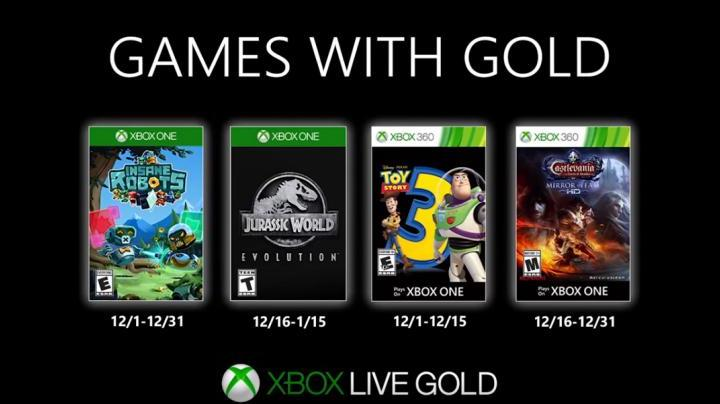 Xbox Games With Gold Dezembro 2019