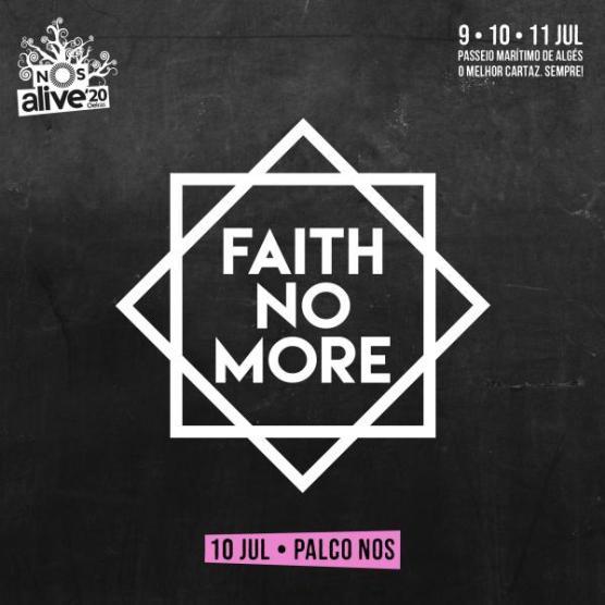 FMN POST NOS FACE INSTA - Faith No More confirmados no NOS Alive'20