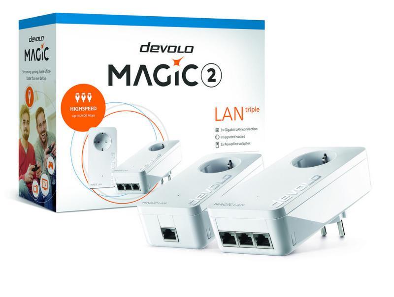 Magic 2 LAN triple