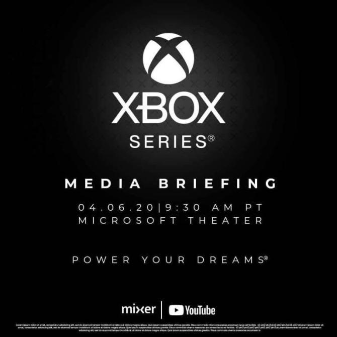 apresentação Xbox Series X