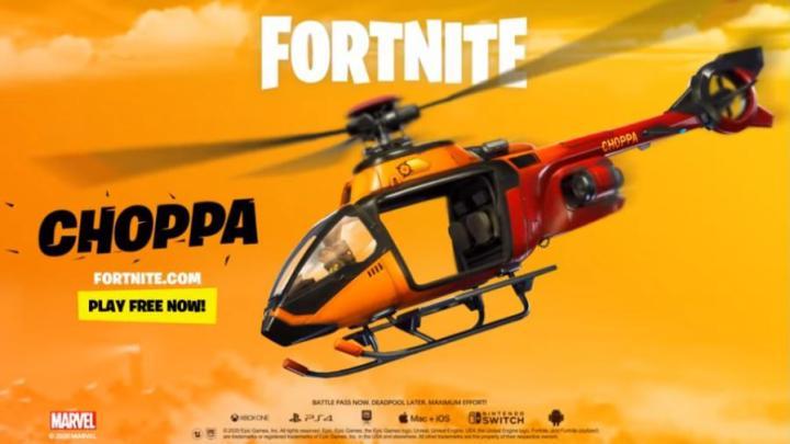 Helicópteros Fortnite