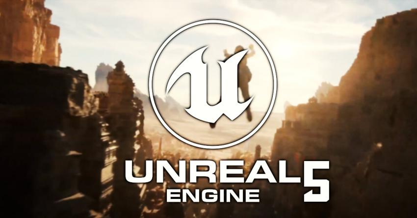 Epic Games mostra o novo Unreal Engine 5... na PlayStation 5