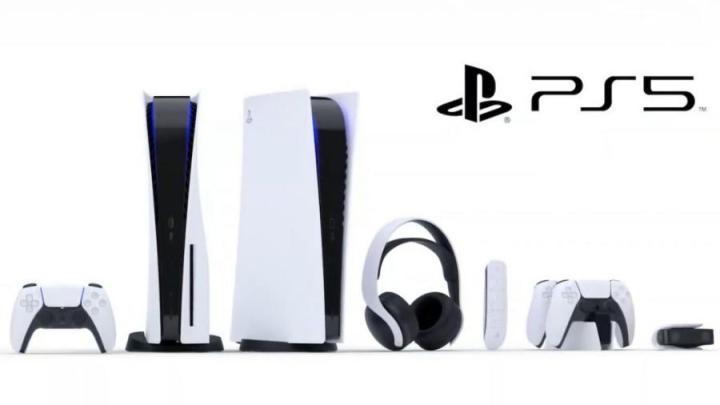 produção PlayStation 5 caixa acessórios