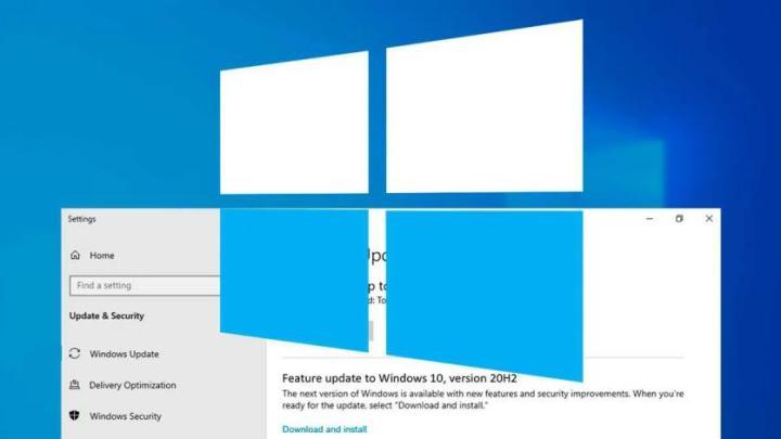 Windows 10 20H2 Windows 10 menu iniciar problemas actualizações
