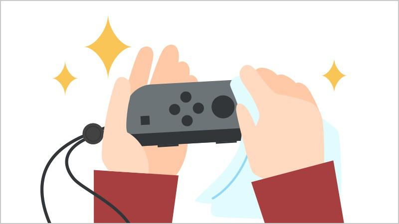 desinfectar Nintendo