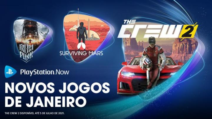 PlayStation Now Janeiro