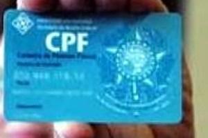Em caso de uso fraudulento de CPF é possível a obtenção de novo registro