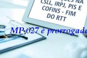 Medida Provisória nº 627/2013 tem vigência prorrogada por 60 dias.