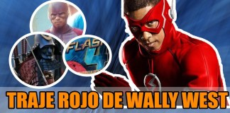 Flash: Wally West Con El Traje Rojo