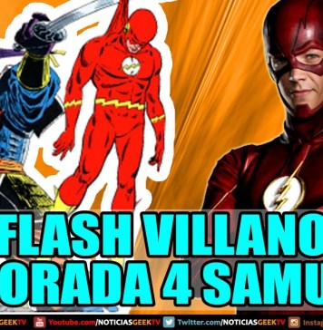 Flash: El Villano Temporada 4 Samuroid
