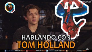 Tom Holland - Entrevista Spider-Man Homecoming