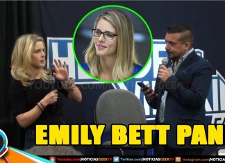Emily Bett - Felicity Smoak - Arrow Panel Heroes and Villains 2017