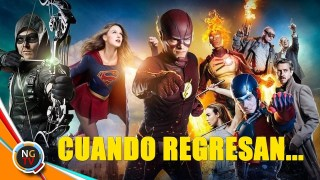 Arrowverso Cunado regresa The Flash Supergirl Arrow y Legends