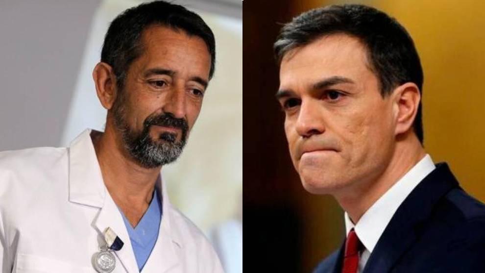 El doctor Pedro Cavadas reprocha a Pedro Sánchez el error más ...
