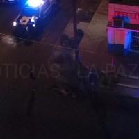 Policíaca: Por defender a una mujer de asaltantes le pegaron un balazo y murió en la colonia CENTRO en #LAPAZ