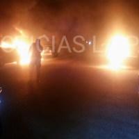 ¡Le prendieron fuego a TRES VEHÍCULOS  en Los Olivos, Dodge Charger, Lincon y Toyota!