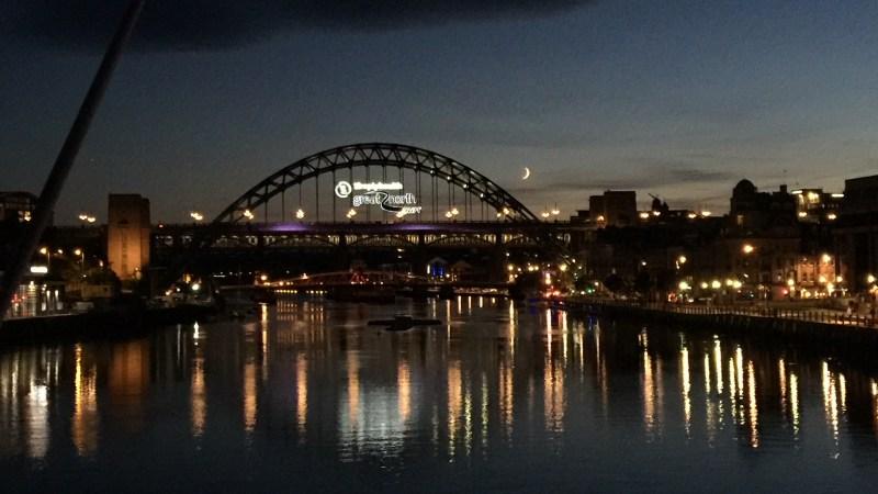 Newcastle, Inglaterra: ciudad de puentes