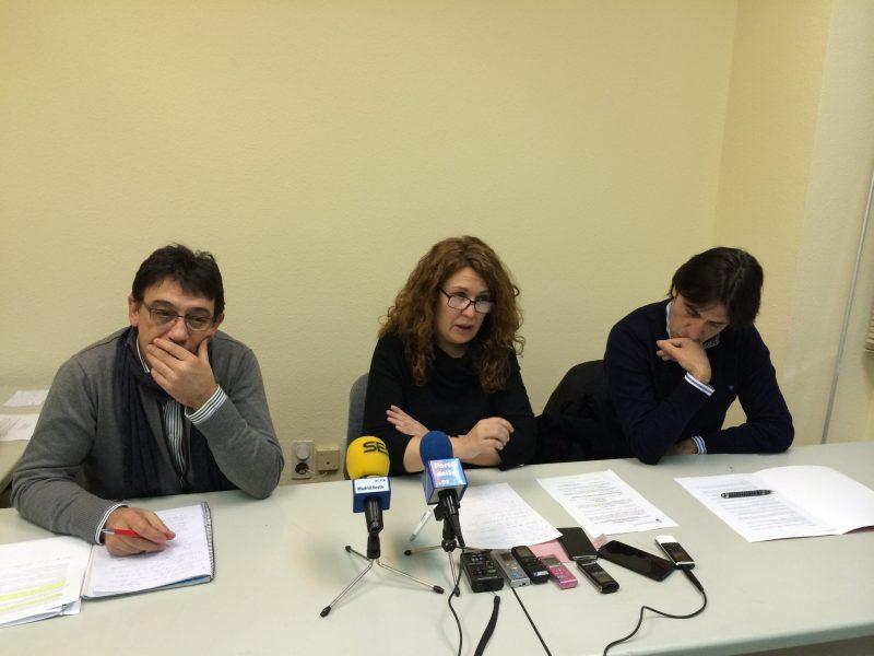 Rueda de prensa urgente de la oposición, Alcorcón