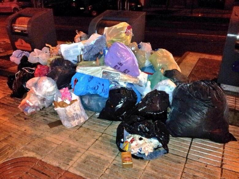 Huelga de recogida de basura en Alcorcón