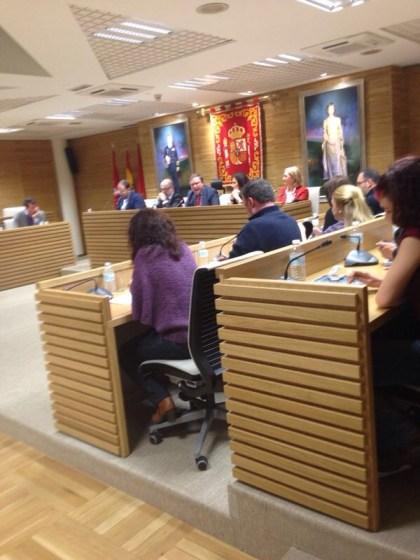 Pleno extraordinario del Ayto. de Getafe por las dimisiones del 'Caso Aparcamientos'