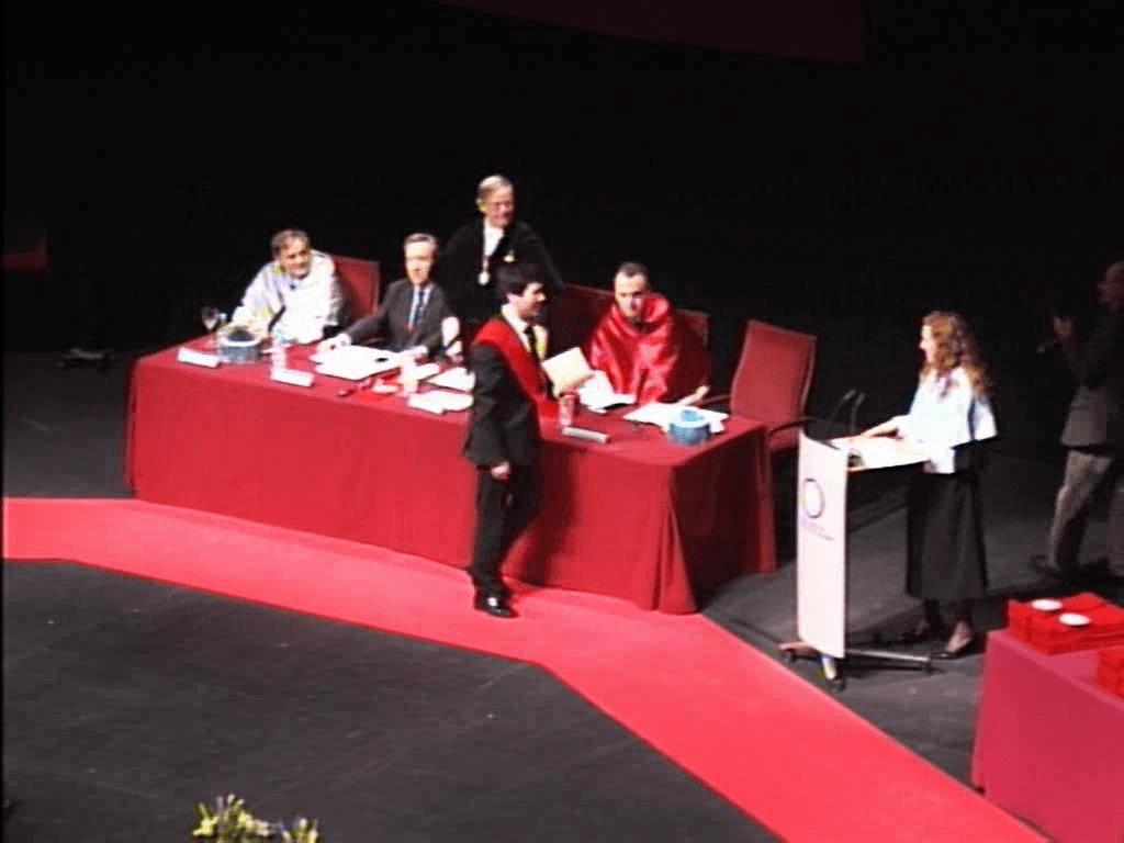 Acto de graduación en la Universidad Carlos III de Madrid, Campus de Getafe