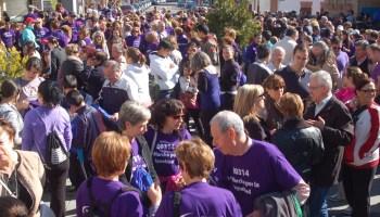 Marcha por la Igualdad en Parla