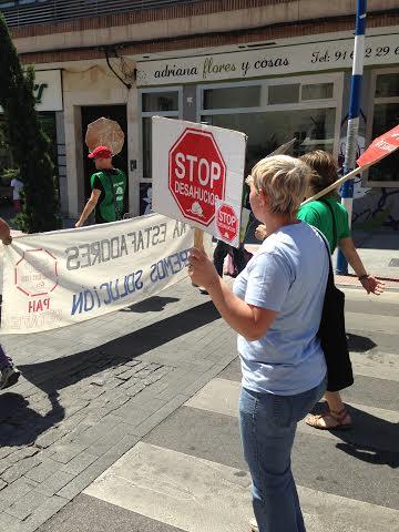 afectados por desahucios en Getafe