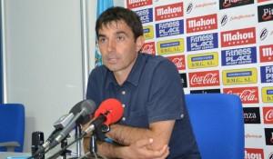 Asier Galiano, técnico del CD Leganés