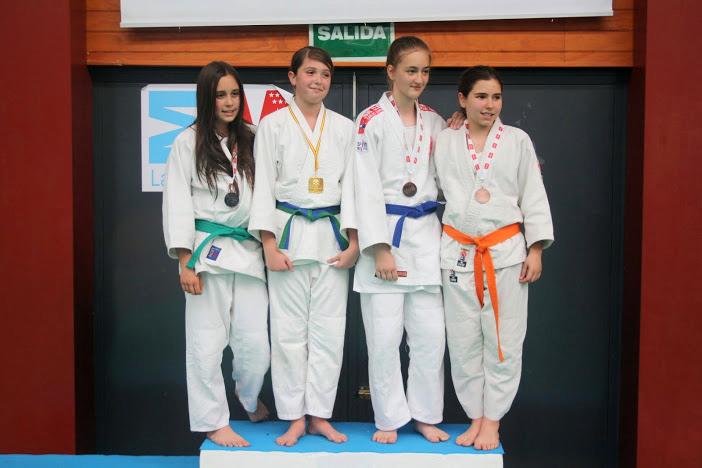 Podium para García, del Club de Judo Carlos Arroyo