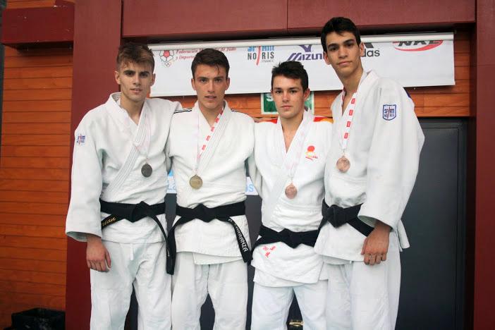 Podium para Samuel Moriano, del Club de Judo Carlos Arroyo