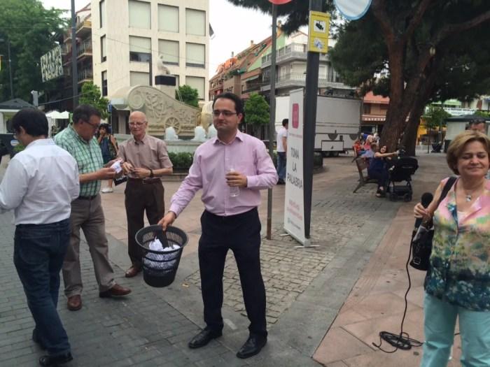 Los vecinos sacan de la papelera las propuestas locales y regionales de UPyD