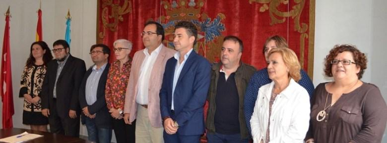 PSOE e IU en el acuerdo de gobernabilidad